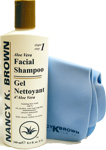 Nancy K Brown : Aloe Facial Shampoo Classic Cleanser and Shammy Combo