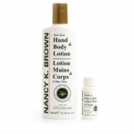 Nancy K Brown : Aloe Hand and Body Lotion + 12% Glycolic Acid