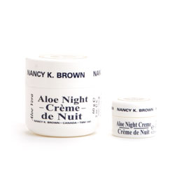 Nancy K Brown : Aloe Night Cream - Instant Moisture Lock Night Repair